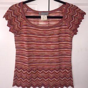 Missoni fine knit sweater shirt Italian